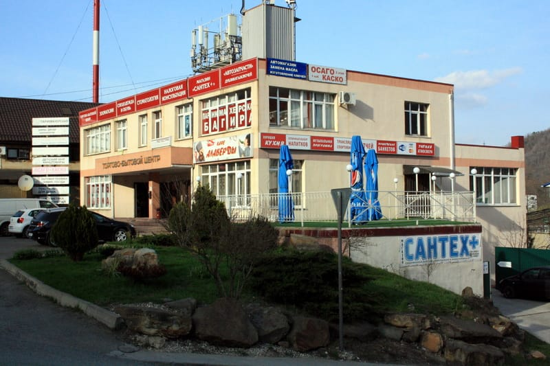 Торгово-бытовой центр в Ольгинке