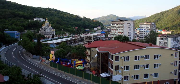Инфраструктура Ольгинки