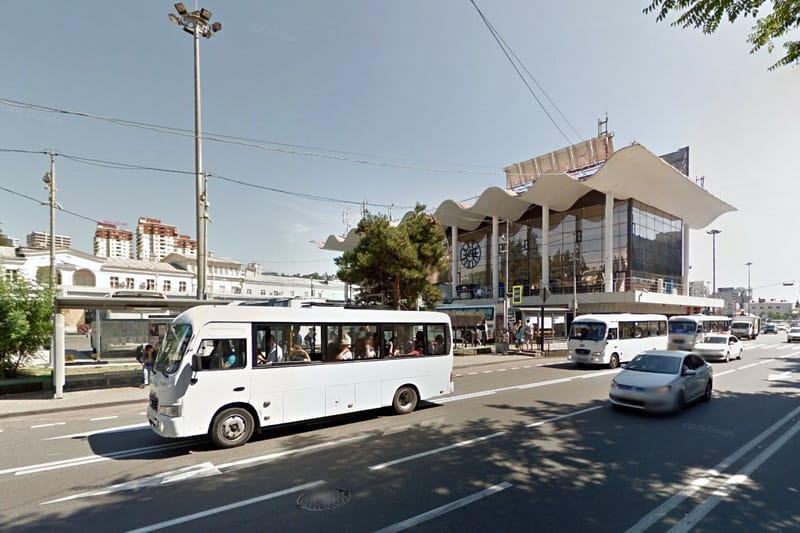 OneLine расписание автовокзала в Сочи