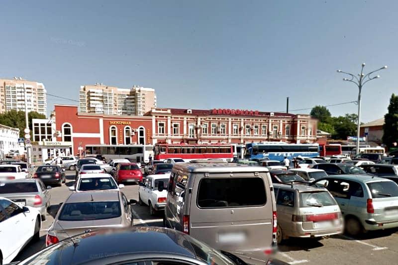 OneLine расписание автовокзала в Краснодаре