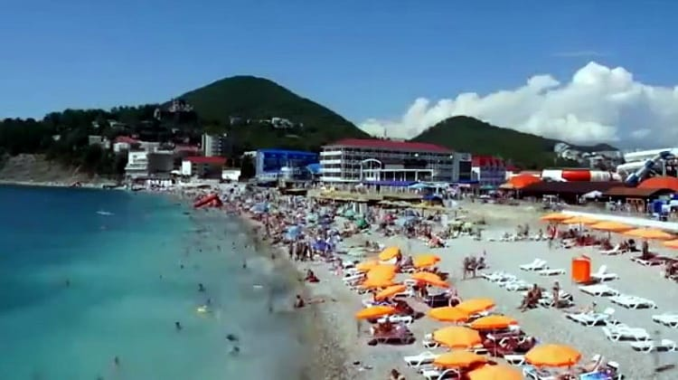 Видео поселка Ольгинка