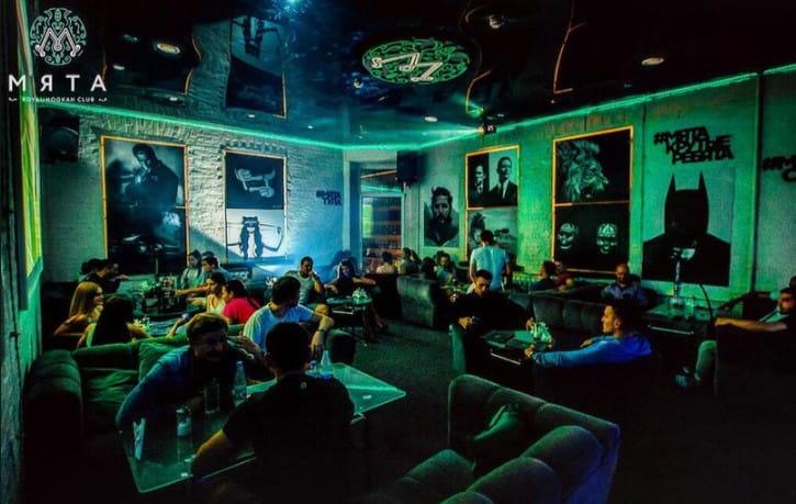 Ночной клуб «Мята» в Ольгинке
