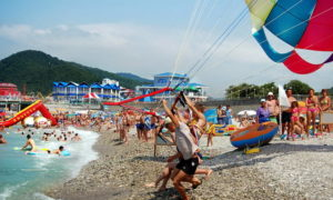 """Развлечения на воде - Пляж """"Казачья пристань"""""""